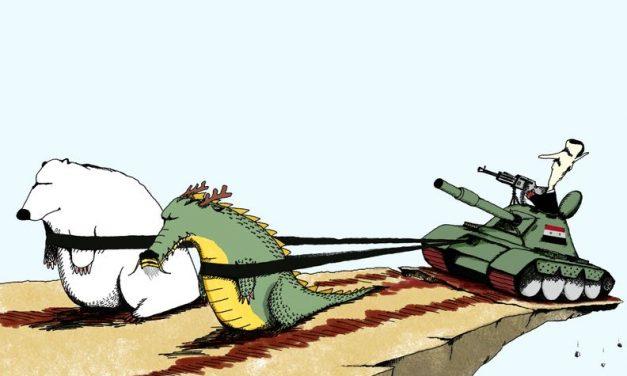 Venäjä ja Syyrian kansannousu