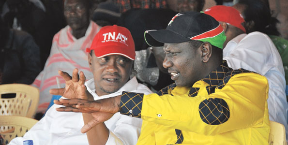 Kenian vaalit ja ICC-syytetyt presidenttiehdokkaat