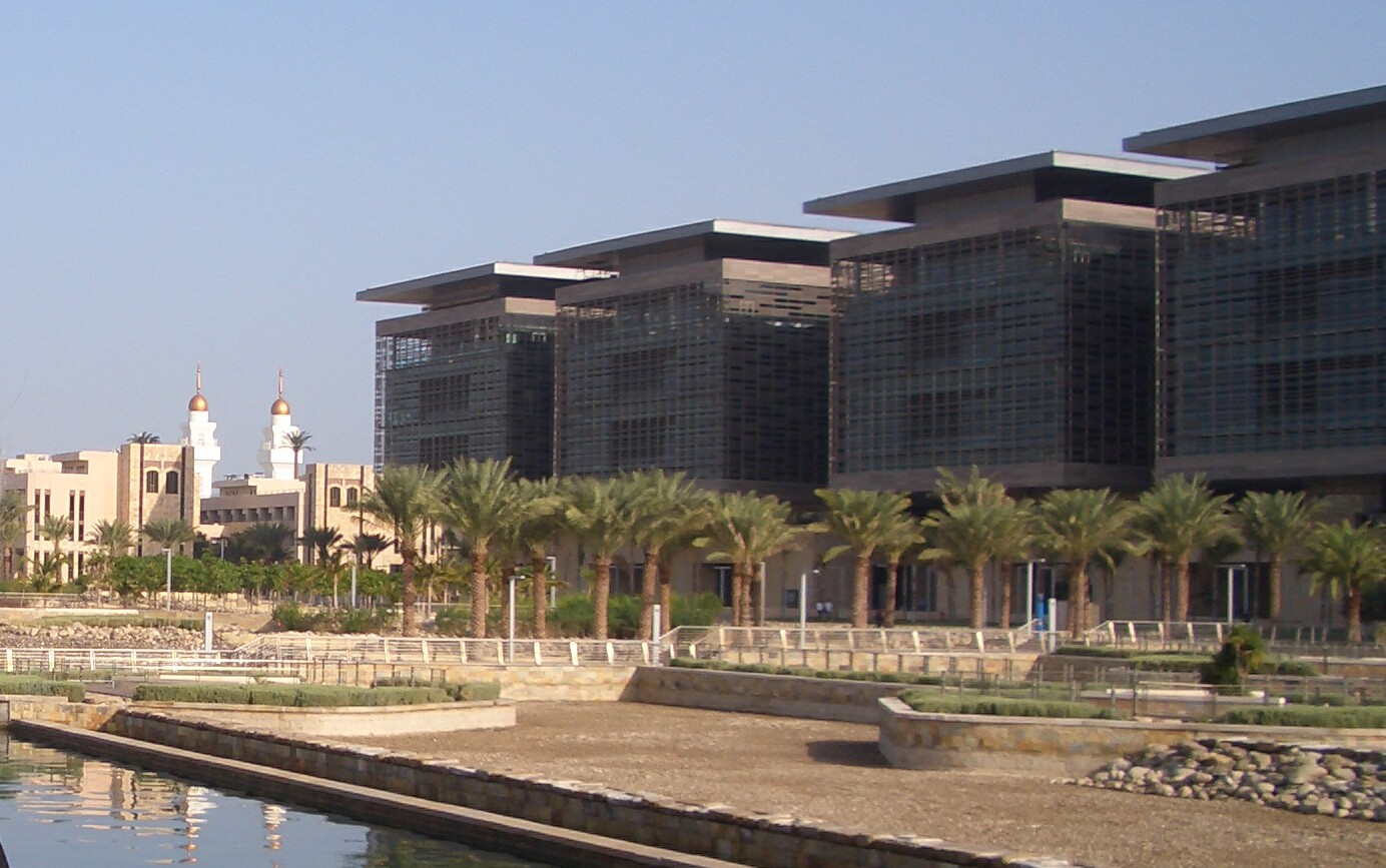 King Abdullah University of Science and Technology:n kampusta.