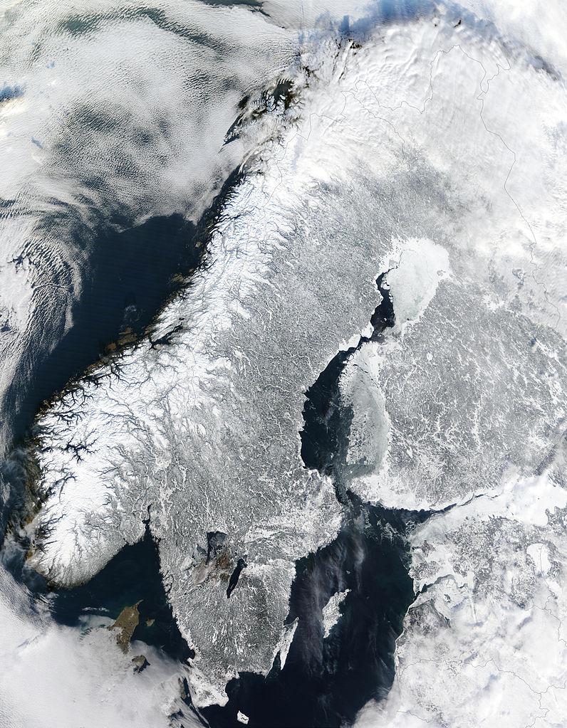 Onko Pohjois-Euroopan poliittinen ilmapiiri viilenemässä? Kuva: Wikipedia