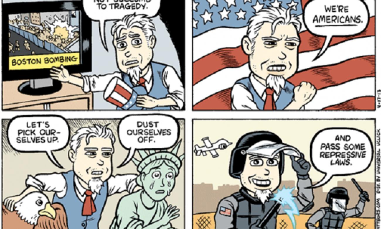 Terrorismin liian monet kasvot