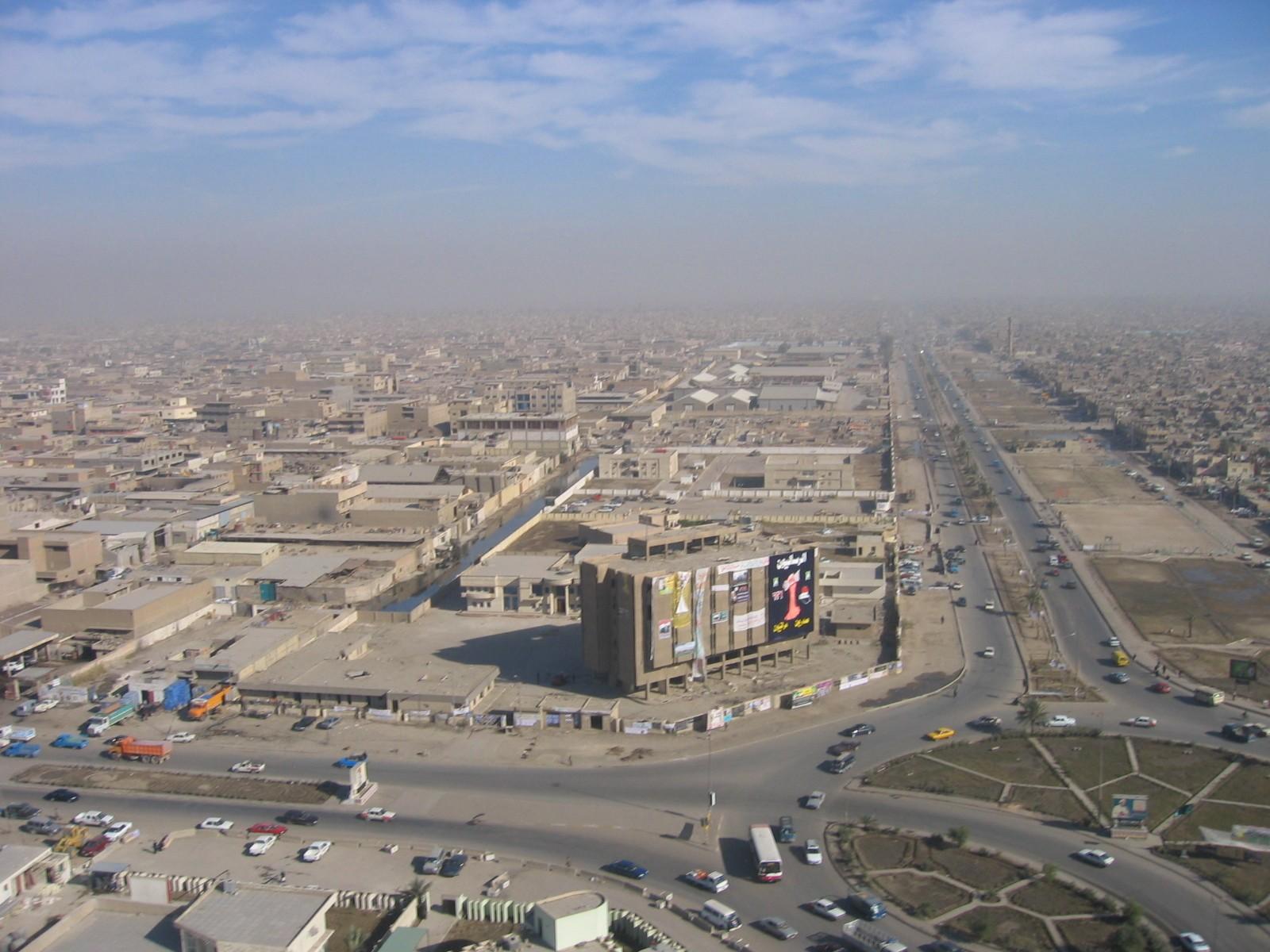 Baghdadin Sadr Citynä tunnettu kaupunginosa. Kuva: Wikipedia.