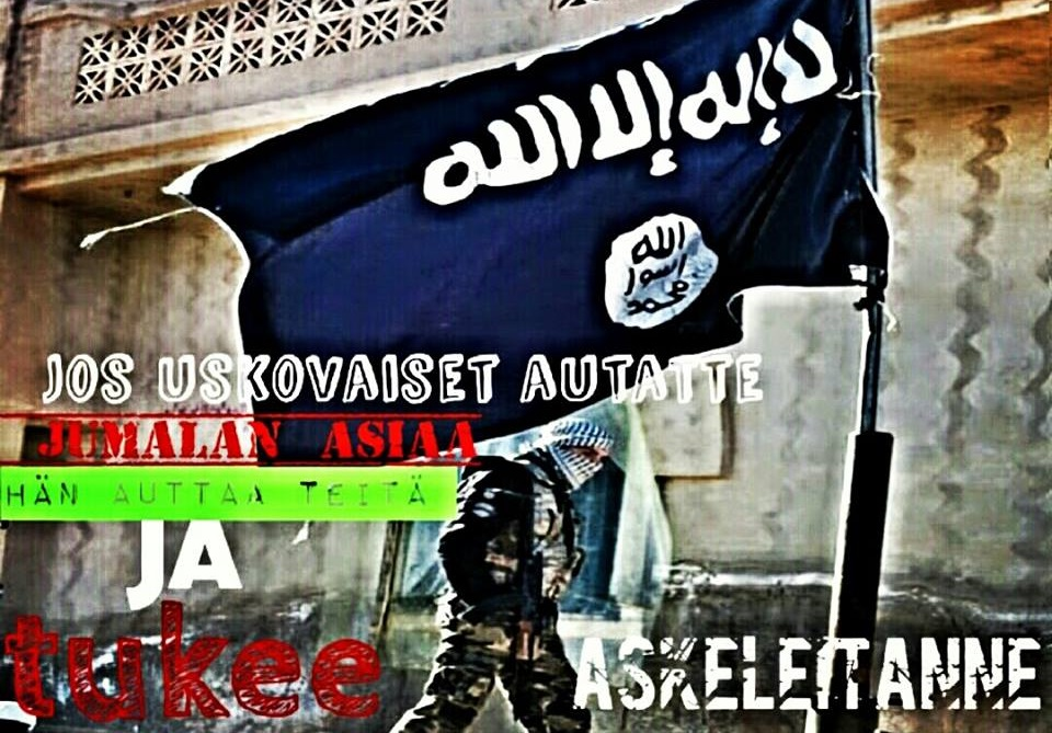 Islamilaisella valtiolla on kannattajansa länsimaissa - Suomessakin