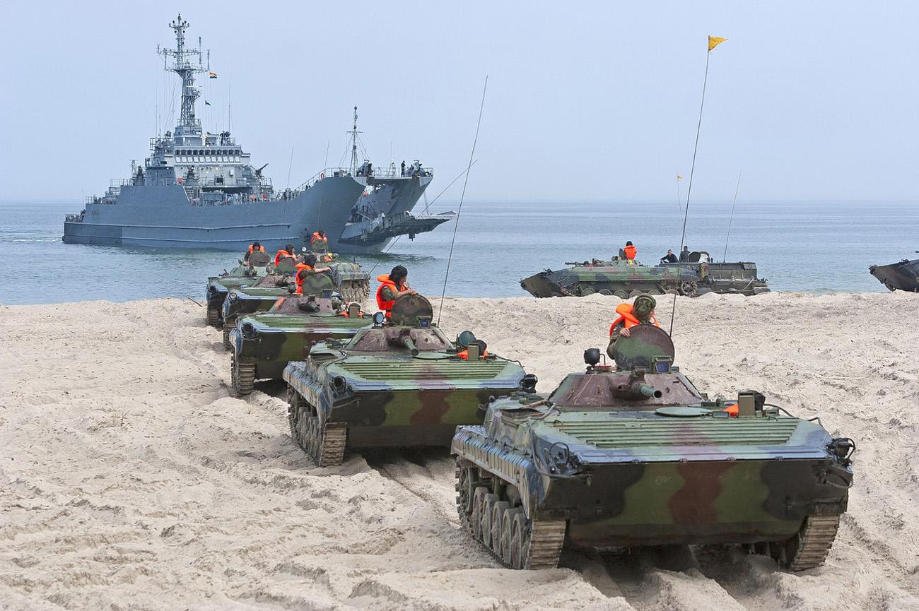 Sotaharjoitukset Puolassa. Kuva: Pixabay