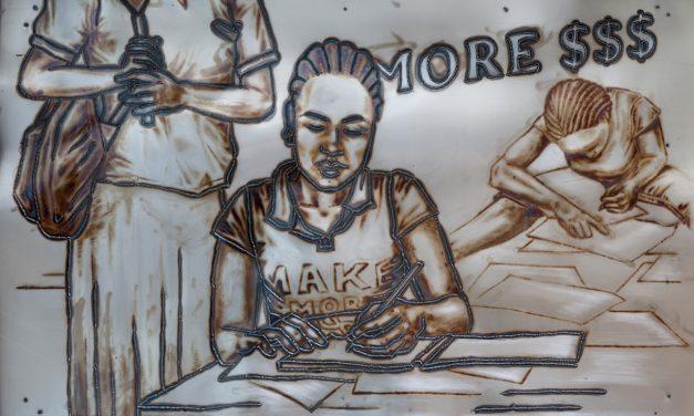 The Ulkopolitist goes art: Metallinaisia sotien jälkeisessä Liberiassa