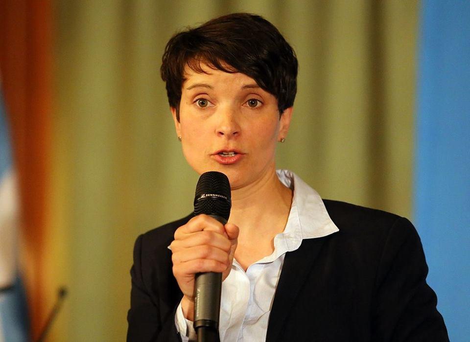 AfD:n puheenjohtaja Frauke Petry. Kuva: Wikimedia Commons
