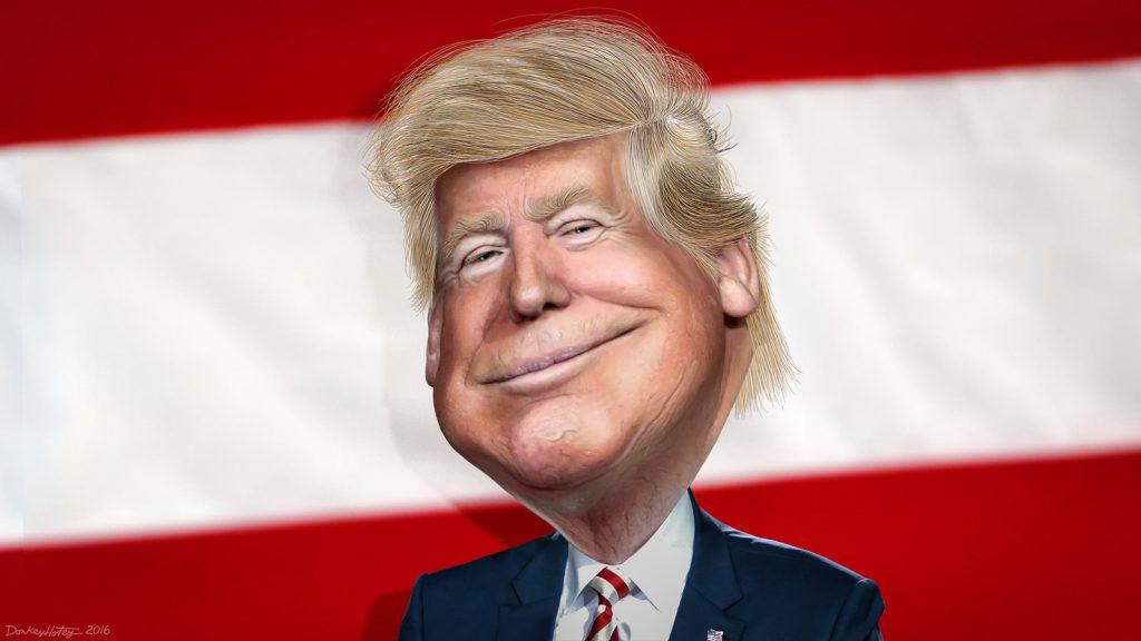 Donald Trump. Kuva DonkeyHotey / Flickr.