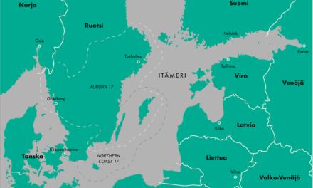 Itämeren geopolitiikka on muuttunut: Aurora 17 ja Suomen strateginen asema