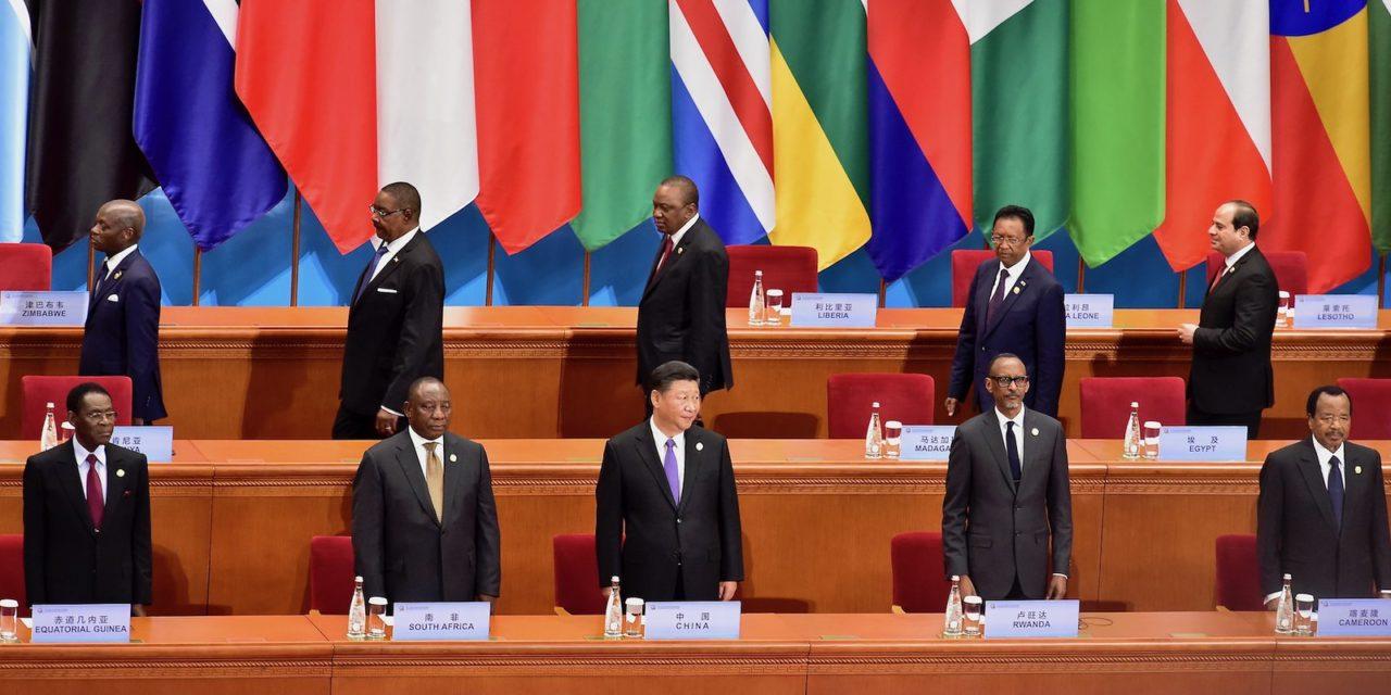 Afrikka on Kiinan suurvaltahaaveiden laboratorio