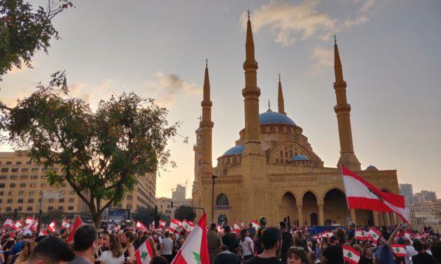 Libanonin mielenosoittajilla on vastassaan maan eliitti ja yhteiskunnan valtarakenteet