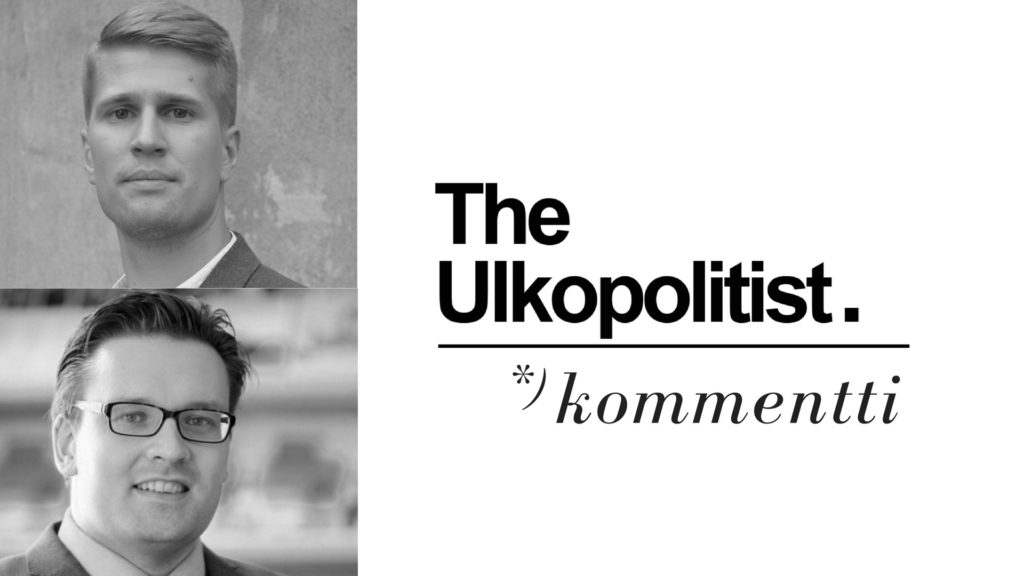 Kommenttikuva Henri Vanhanen ja Niklas Nováky