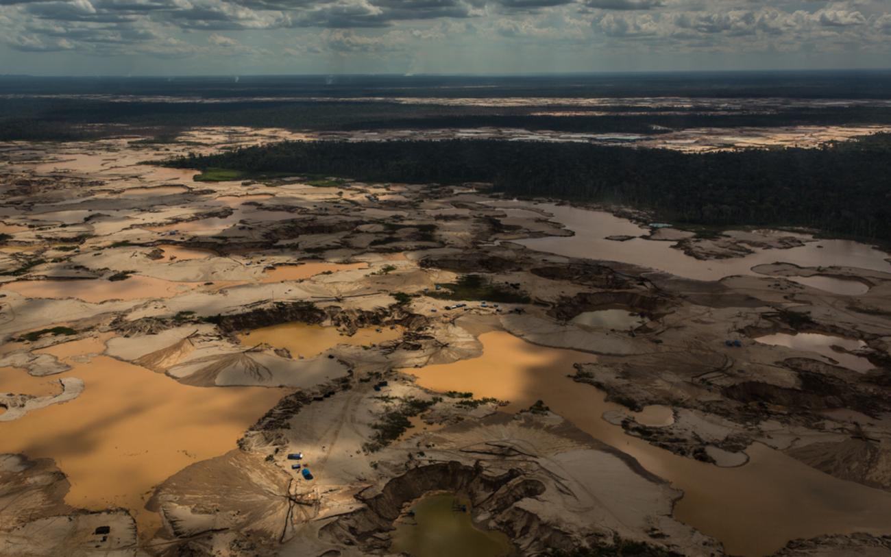 Kullan hinnan nousu vauhdittaa Amazonian tuhoa