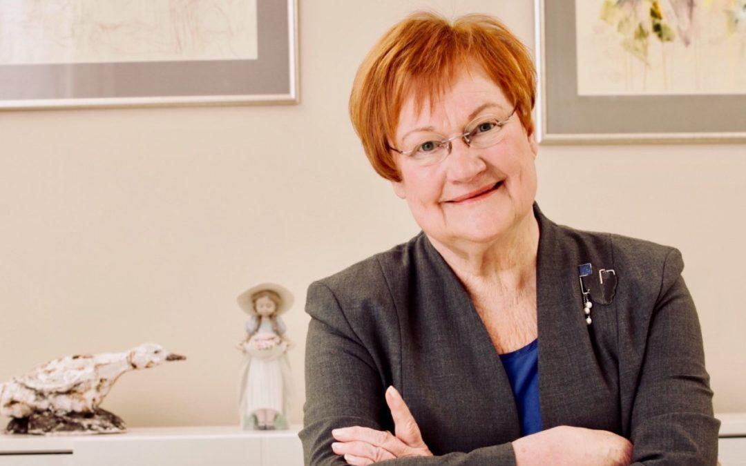 Presidentti Halonen peräänkuuluttaa feministisen ulkopolitiikan merkitystä