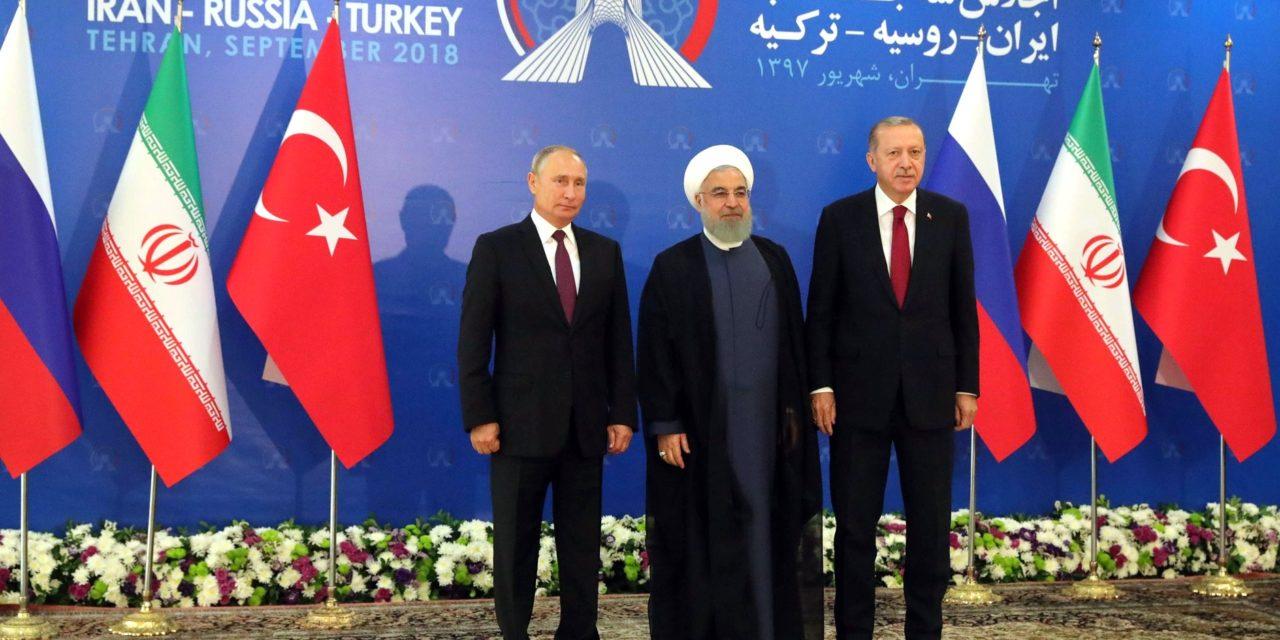 Liittoutumana liittoutumatta – Venäjä, Turkki ja Iran toimivat yhdessä silloin kun se niille sopii