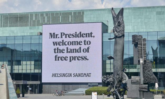 Ikuisesti idän ja lännen välissä? Miltä Suomi näyttää Washingtonista käsin ja mitä suurvallat voivat oppia pienemmiltään